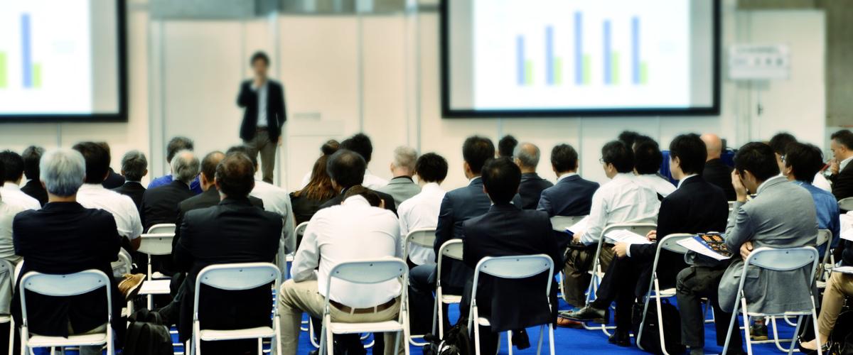 Zuhörer im Seminar